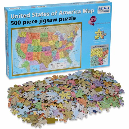 500-Piece Hema USA Puzzle