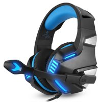 Gaming Headset for XBOX One PS4 head phone stereo Game headphone Computer Headsets with microphone LED light for Computer pc gamer