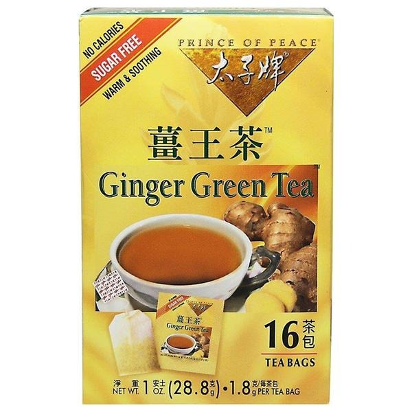 Ginger Green Tea Prince Of Peace 16 Tea Bag