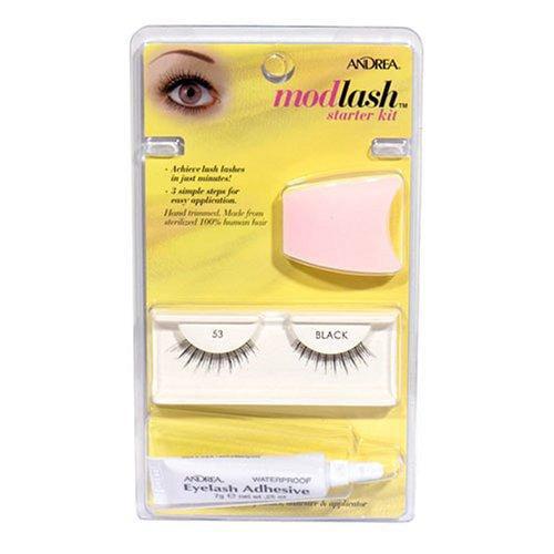 Andrea Modlash Starter Kit Eyelashes: Black #53