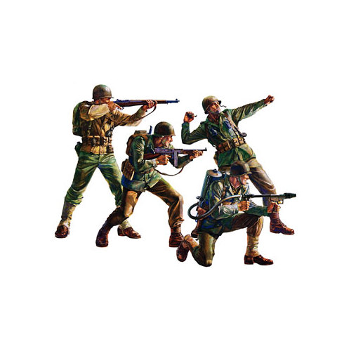 35013 1/35 US Army Infantry Multi-Colored