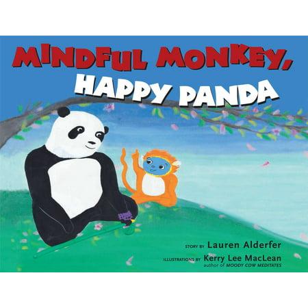 Happy Monkey - Mindful Monkey, Happy Panda