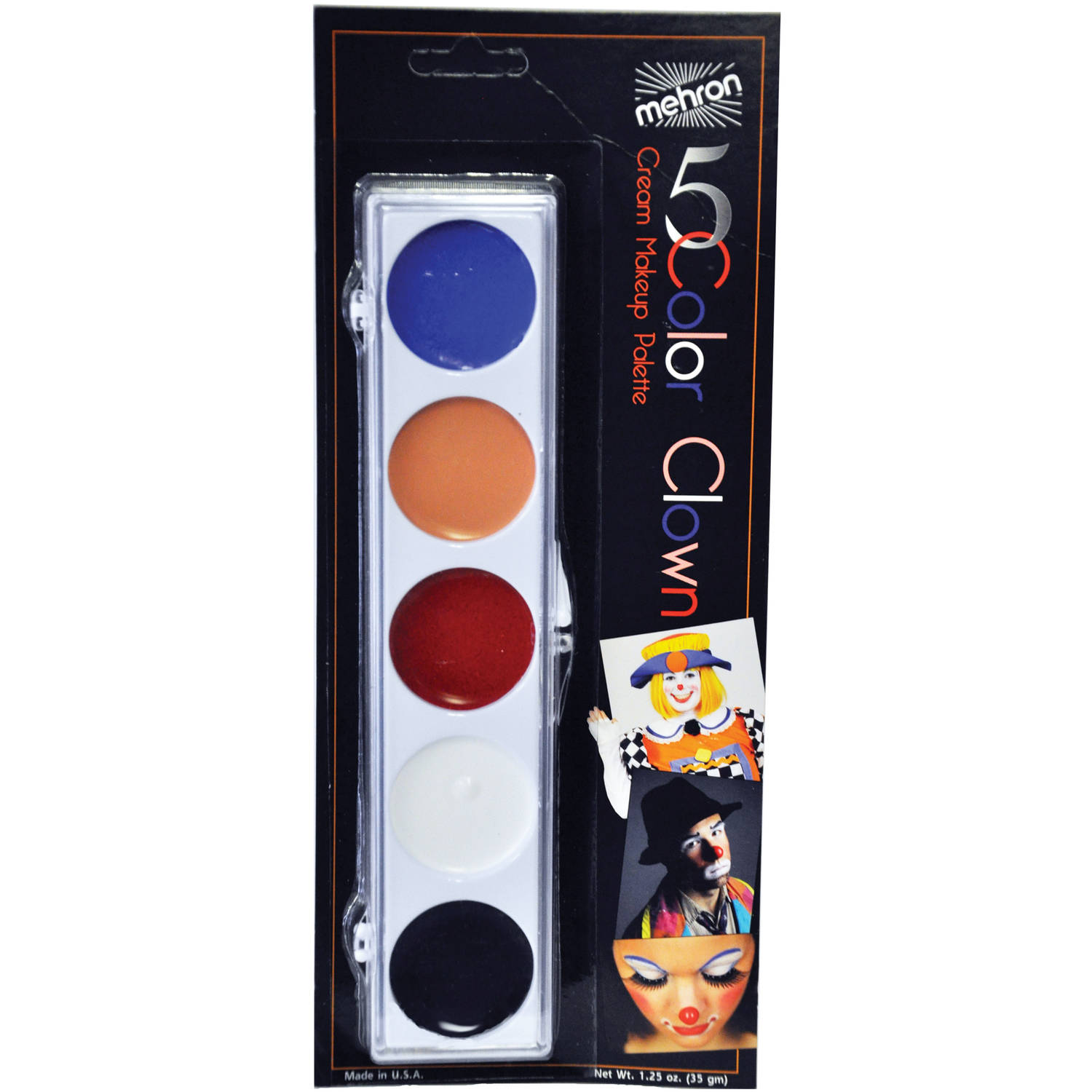 Clown Color Palette Adult Halloween Accessory