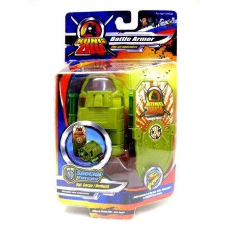 Zhu Universe Kung Zhu Special Forces: Sgt. Serge/Ambush Toy Hamster (Best Hamsters For Beginners)