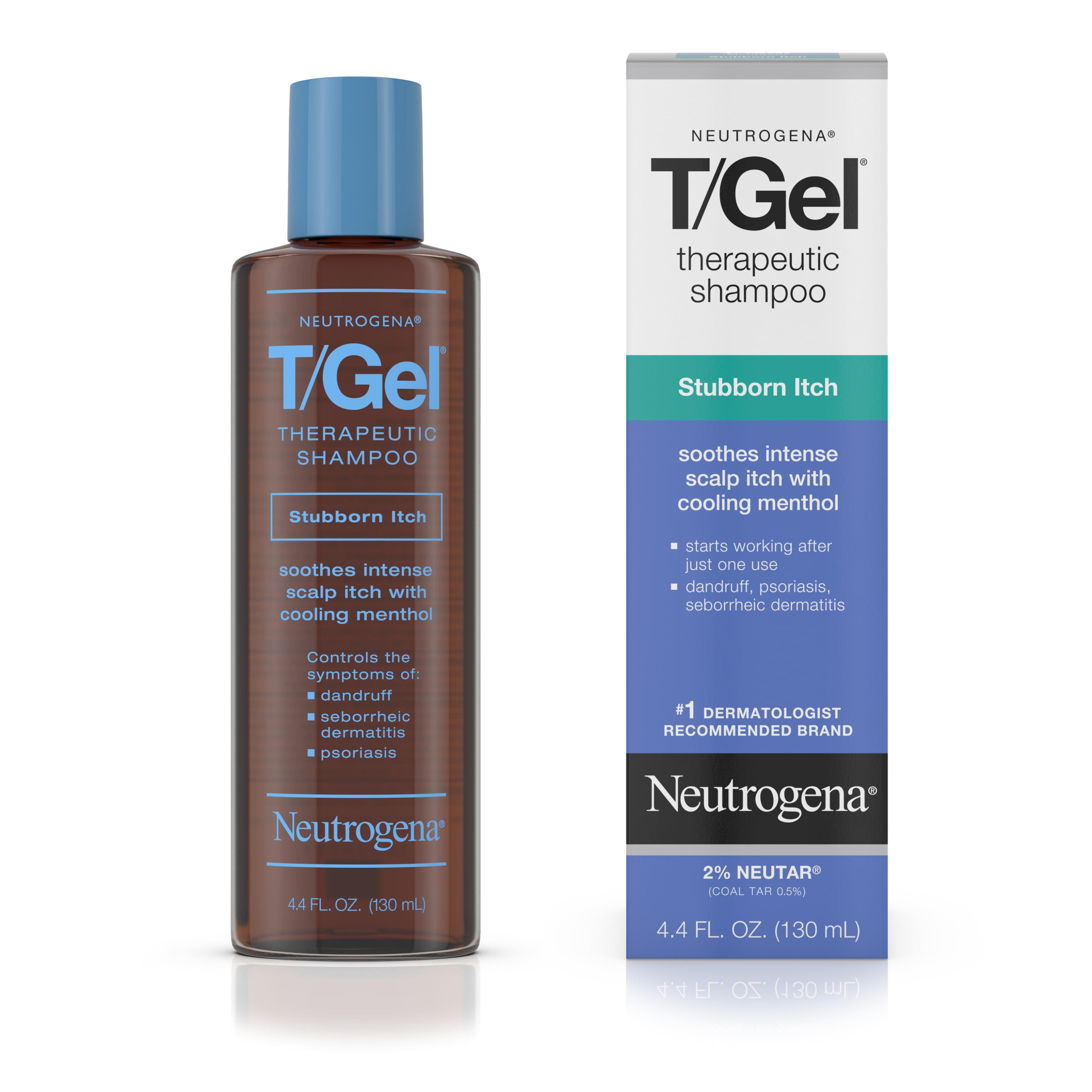 Neutrogena T/Gel Stubborn Itch Therapeutic Dandruff Shampoo, 4.4 fl. oz
