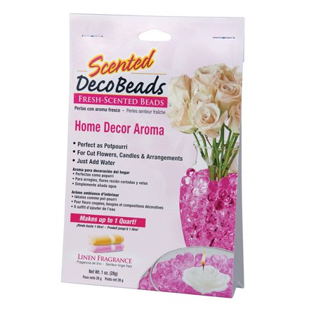 Scented Deco Beads Linen Pink 1 Ounce Pack Makes 1 Quart Of