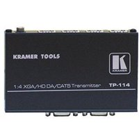Kramer TOOLS TP-114 Transmitter - Video extender - 4 ports - up to 328 ft