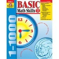 Evan-Moor Basic Math Skills Gr 2 3015