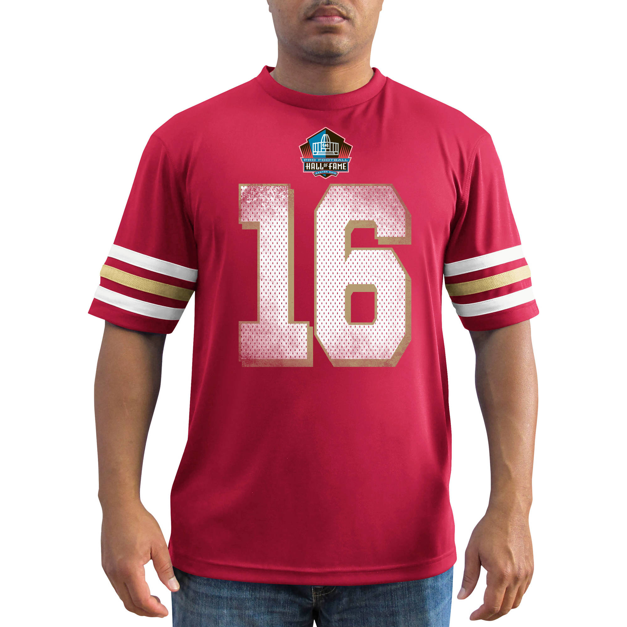 NFL Men's San Francisco 49Ers Montana Synthetic Fashion Tee