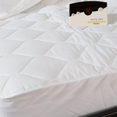Biddeford 5201-505122-100M Quilted Electric Heated Mattress Pad Full -