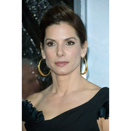 Sandra Bullock At Arrivals For The Blind Side Premiere The Ziegfeld Theatre New York Ny November 17 2009 Photo By Leeeverett Collection Photo Print