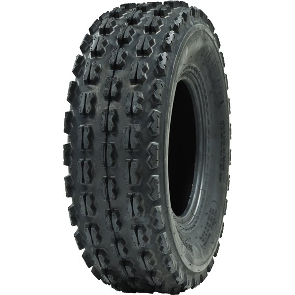 Ocelot GNCC Holeshot Sport ATV Front Tire RAZR Style 4-Ply Tread 22x7-10 P356