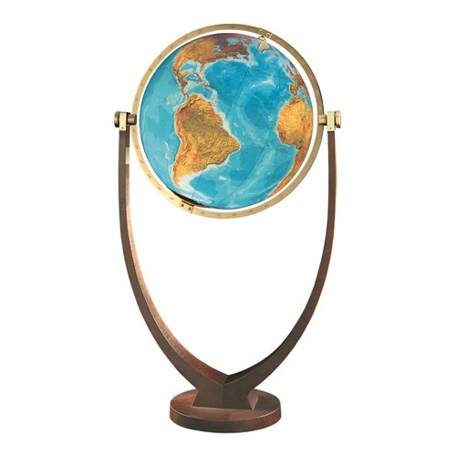 Columbus Globe Osnabruck Illuminated Floor Globe by Columbus Globe