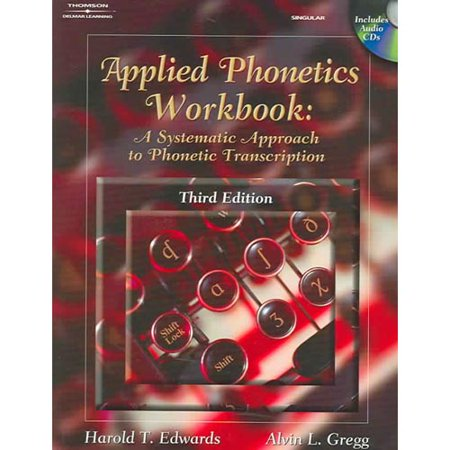 - Applied Phonetics Workbook : A Systematic Approach to Phonetic Transcription