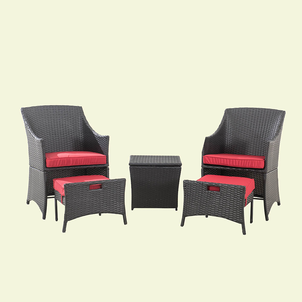 Parkside 5PC Wicker Seating Set