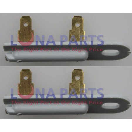 2 Pk, Dryer Thermal Fuse for Whirlpool, Sears, Kenmore, AP3132867, 3392519