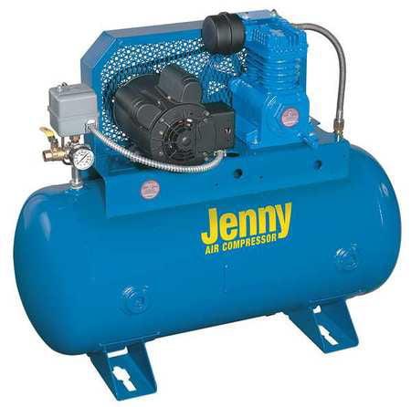 Jenny Fire Sprinkler Air Compressor, K2S-30UMS-115/1