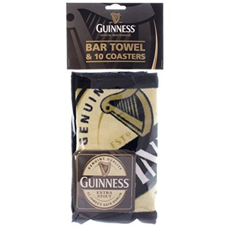 Guinness Bar Towel and 10 Beermats sg