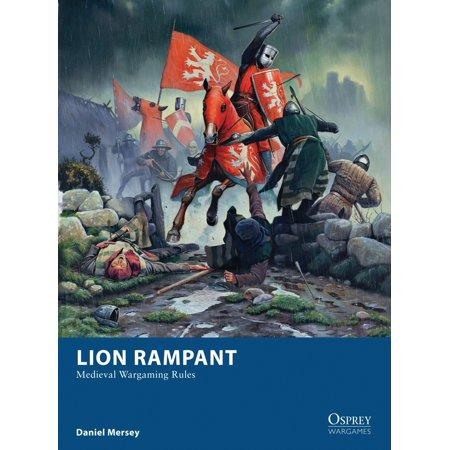 Lion Rampant : Medieval Wargaming Rules (Lion Medieval)