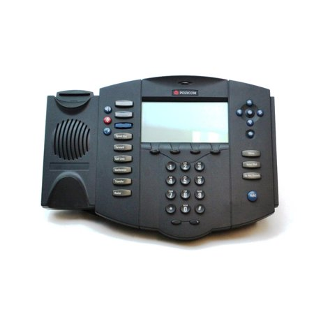 Soundpoint Ip Phones (2201-11500-001 Polycom Soundpoint IP 500 Voip 3-LINE Business Display Telephone Networking Phones / Telephones - Used Very Good )