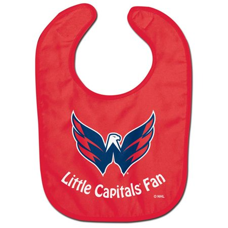 Washington Capitals Official NHL Infant One Size Baby Bib by McArthur (Mcarthur Square)