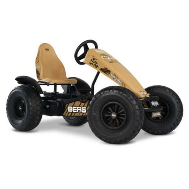 Safari BFR Pedal Car, Yellow by Whole-in-One