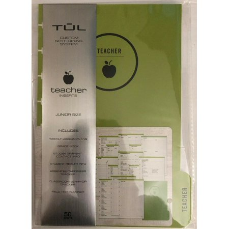 "TULâ""¢ Discbound Refill Teacher Inserts Junior Size 5 1/2"