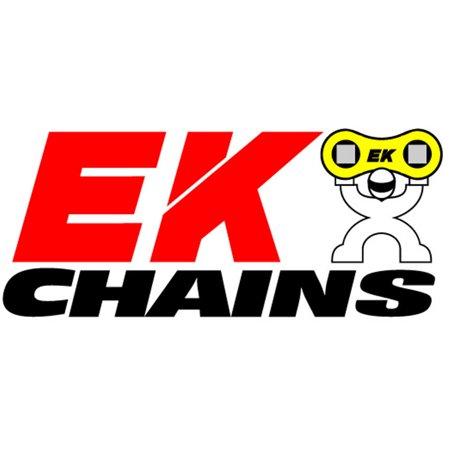 EK Motorcycle Chain Standard Series 428x120 Sport EX Chain Natural Color