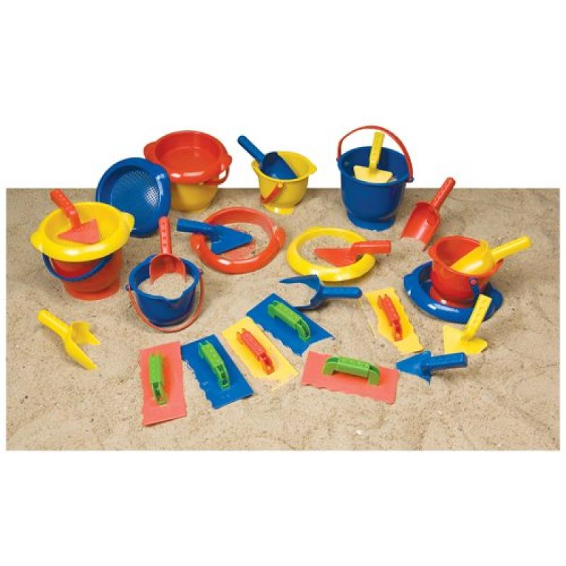 Constructive Playthings Indestructible Sand-Play Set