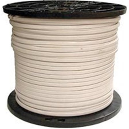 Southwire 28827472 Type NM-B Sheathed Cable, 14 AWG, 450 ft L, White Nylon Sheath
