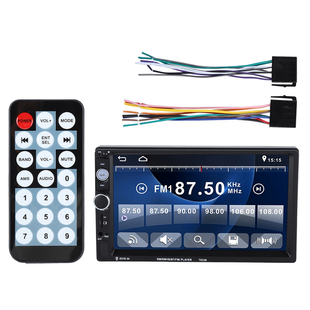 7/'/' 2din Double Spindle Car Video Player Bluetooth Radio MP5 Player for Android