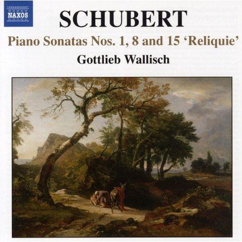 Piano Sonatas 1 8 & 15 Reliquie