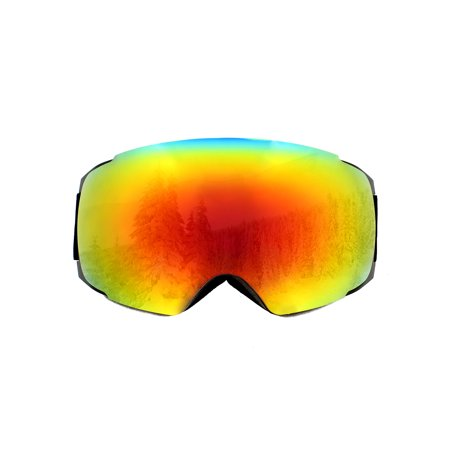 Spherical Series Goggles - Snowboard Snowmobile Ski Goggles with Magnet UV Anti-Fog Spherical Lens