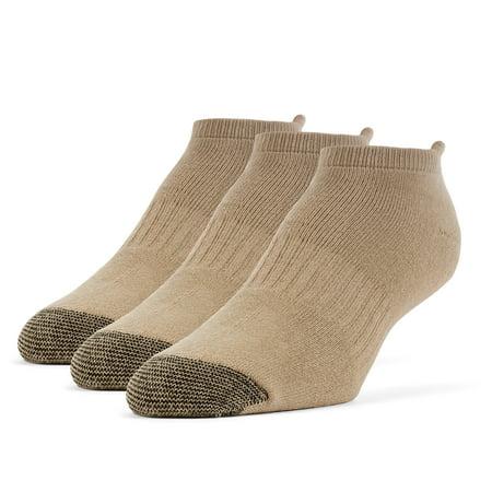 Galiva Men's Cotton Extra Soft No Show Cushion Running Socks - 3 Pairs - image 2 of 2