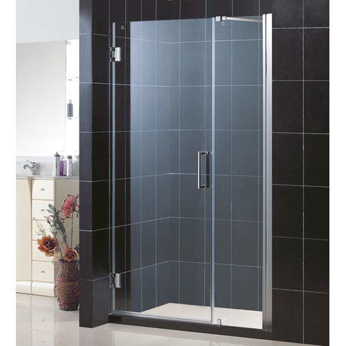 """DreamLine SHDR-20297210 Unidoor 72"""" High x 30"""" Wide Hinged Frameless Shower Door"""