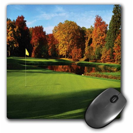 3drose famous golf course in austria mouse pad 8 by 8. Black Bedroom Furniture Sets. Home Design Ideas