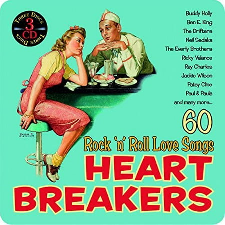 Heartbreakers / Rock N Roll Love Songs / Various (CD) (Halloween Rock Songs List)
