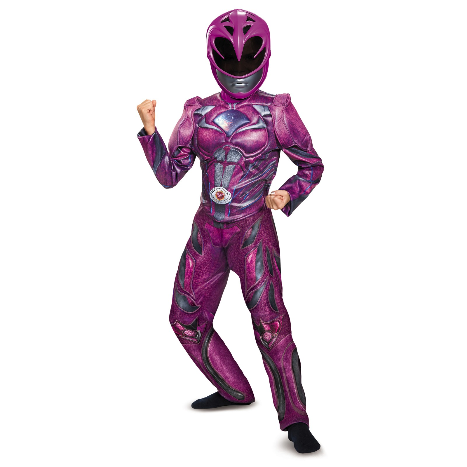 Power Rangers: Pink Ranger Deluxe Child Costume by Disguise