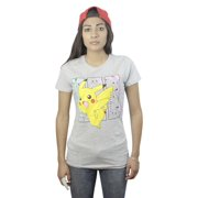 We Love Fine Pokemon Pikachu Licensed Grey T-shirt NEW Sizes S-L