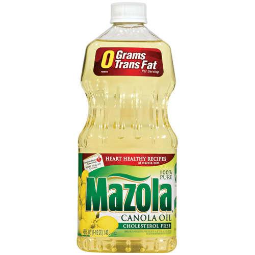 Mazola: 100% Pure Canola Oil, 48 fl oz