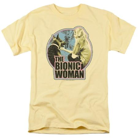 Bionic Woman/Jamie & Max   S/S Adult 18/1   Banana     Nbc313
