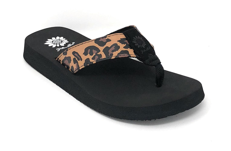 Kinsley Leopard Sandals 37451