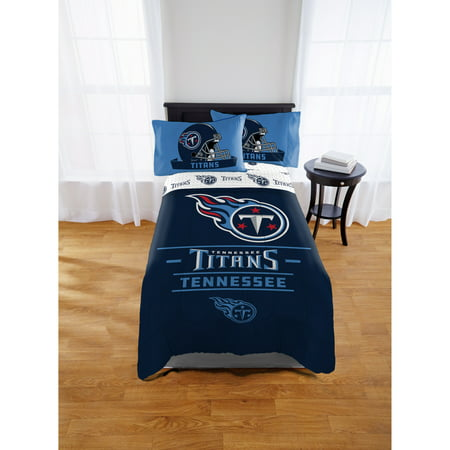 NFL Tennessee Titans Monument Twin & Full Comforter Set, 1 Each