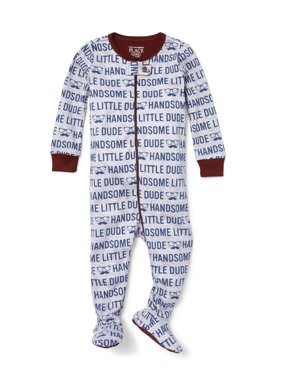 The Children's Place Long Sleeve Stretchie Pajama (Baby Boys & Toddler Boys, 3M, 6M, 9M, 12M, 18M, 24M, 2T, 3T, 4T, 5T)