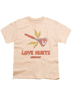 Operation - Love Hurts - Youth Short Sleeve Shirt - Medium