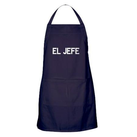 CafePress - El JEFE - Kitchen Apron with Pockets, Grilling Apron, Baking Apron