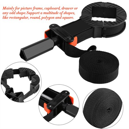 Yosoo Multi-function Adjustable Corner Clamp Band Strap 4 Jaws ...