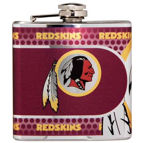 Great American Products Washington Redskins Flask Stainless Steel 6 oz. Flask