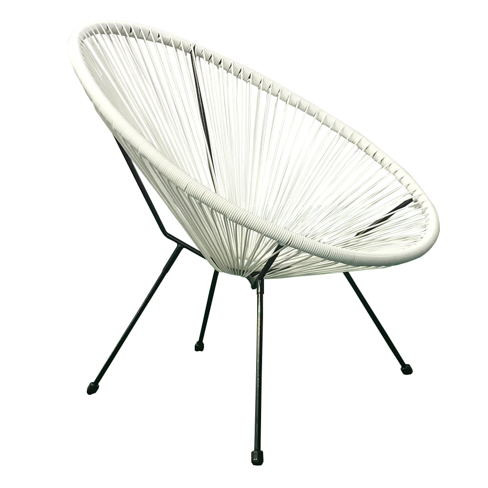 E Joy Acapulco Chair Indoor Outdoor Lounge Chair Weave