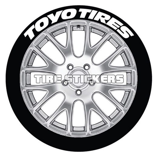 Toyo Tires Tire Stickers
